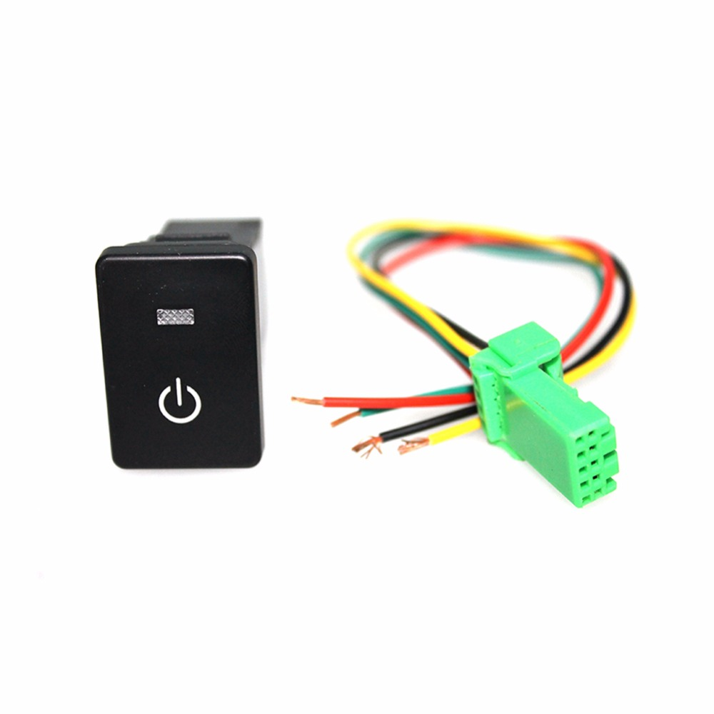 1 set Car Switch Ignition Switch ABS Starter Kit With LED Light Driving Lights for Corolla Vios Reiz Yaris