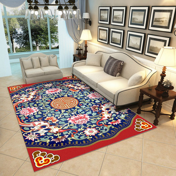 Chinese style large carpet classical living room decoration mat