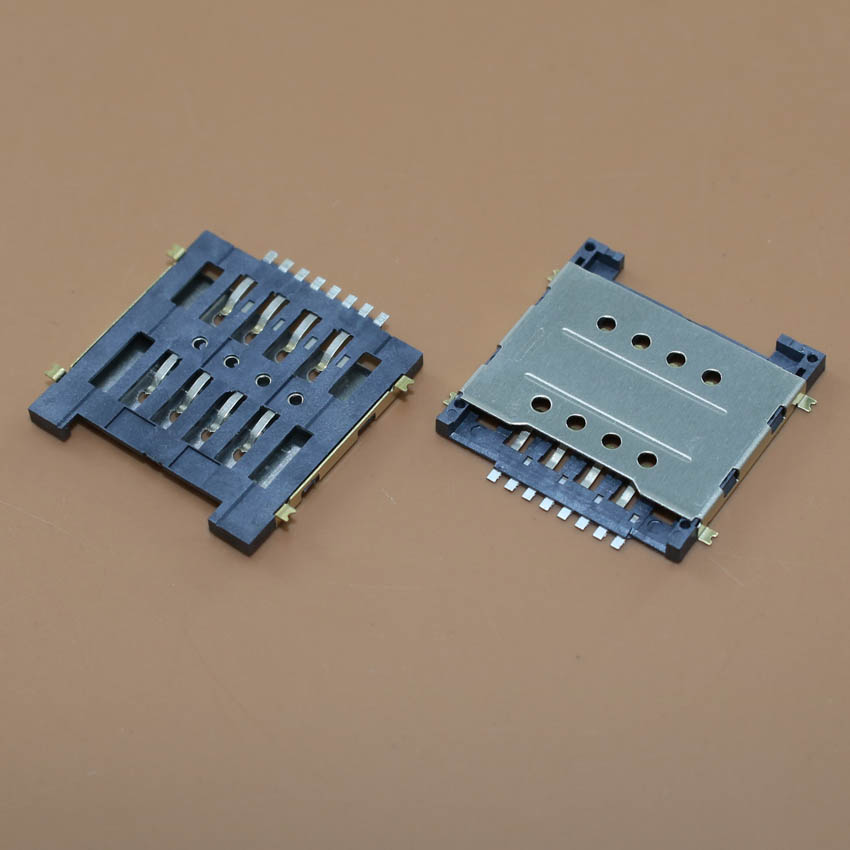 YuXi High quality replacement sim card socket for Huawei G606 and for coolpad 7728 tray holder connector.1pcs/lot.