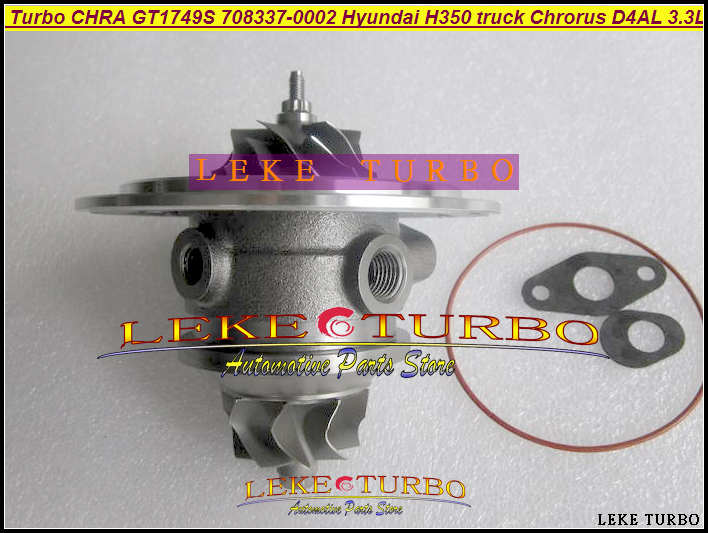 Free Ship Turbo Cartridge CHRA GT1749 708337 28230-41730 708337-0002 28230-41720 708337-0001 For Hyundai Chrorus Bus D4AL 3.3L free ship turbo gt1749s 466501 466501 0004 28230 41401 turbocharger for hyundai h350 mighty ii 94 98 chrorus bus h600 d4ae 3 3l