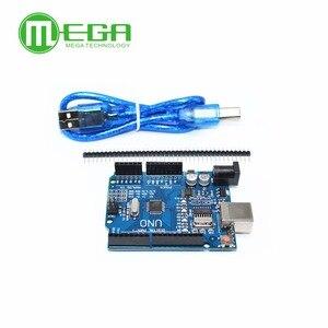 Image 3 - Neue 5 satz/los UNO R3 MEGA328P CH340G mit usb kabel (Kompatibel)