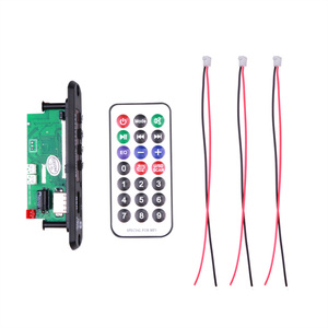 Image 2 - سيارة USB Bluetooth5.0 حر اليدين مشغل MP3 سجل 5 12 فولت المتكاملة MP3 فك لوحة تركيبية مع جهاز التحكم عن بعد USB FM Aux راديو