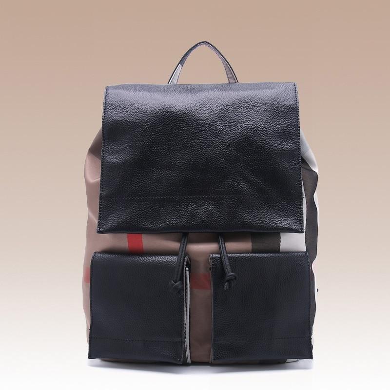 2017 New Arrival Backpack Women Genuine Leather Backpacks Teenage Girls School Bags Teenagers Laptop Bag Travel
