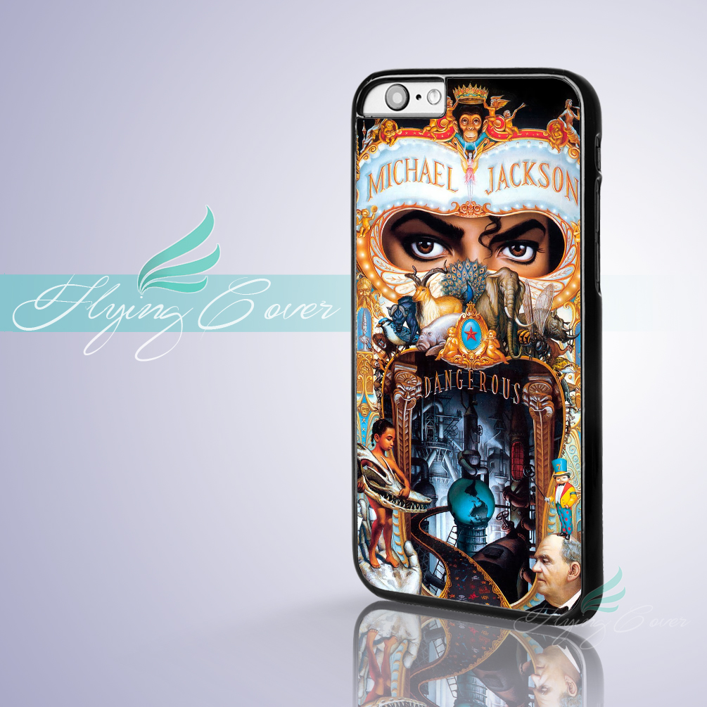 Coque Michael Jackson MJ Dangerous Phone Cases for iPhone