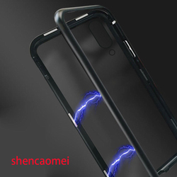 На Алиэкспресс купить стекло для смартфона built-in magnet adsorption metal case for vivo x20 x21 nex s for xiaomi mi 8 se for iphone xs xr xs max