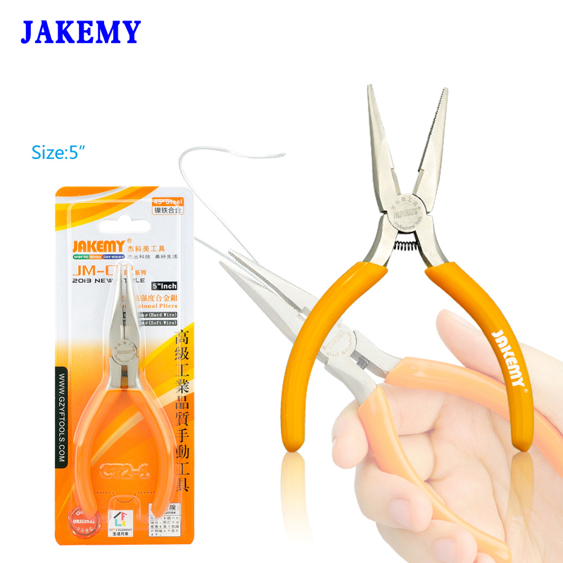 5 Multi Function Needle Nose Pliers Long Nose Pliers High Hardness Electrician Hand Tools