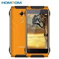 Original Homtom HT20 MTK6737 prueba de Choques Impermeable Del Teléfono 2 GB RAM 16 GB ROM Quad Core de 4.7 pulgadas 3500 mAh Android 6.0 Teléfono Móvil