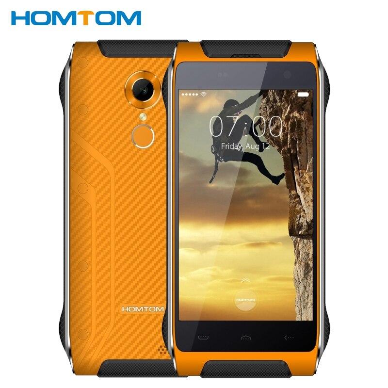 Original Homtom HT20 Waterproof Shockproof Phone 2GB RAM 16GB ROM MTK6737 Quad Core 4 7 inch