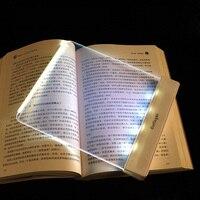 LED Book Light Night Reading Lamp Creative Reading Light Protect Eyes LED Novelty Magic Night Portable