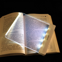 LED Book Light Night Reading Lamp Creative Reading Light Protect Eyes LED Novelty Magic Night Portable