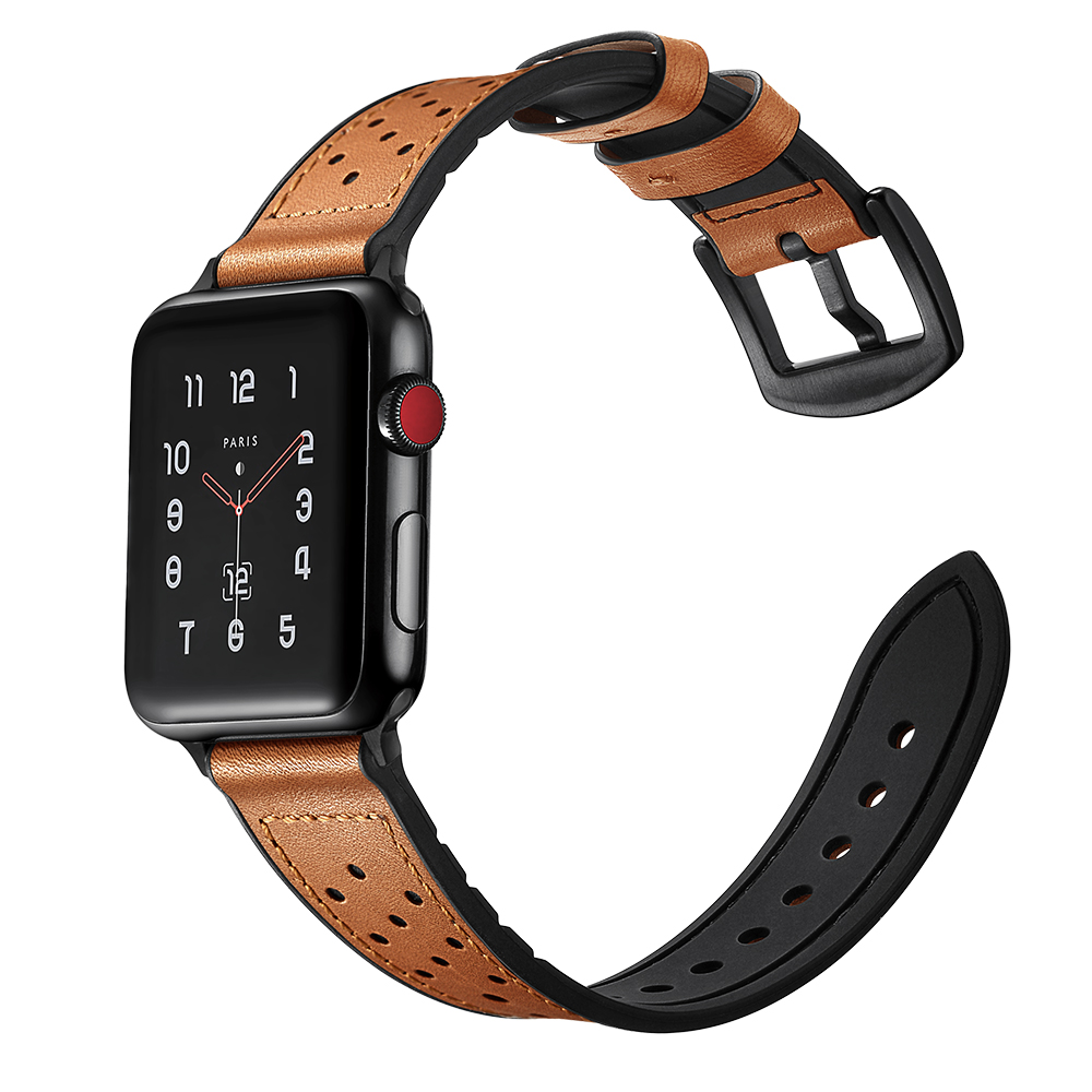 Apple Watch Band Brown 4