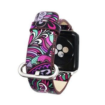 Floral Print Band for Apple Watch 2