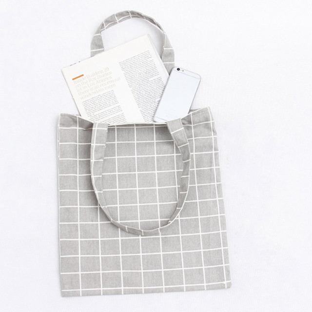 Canvas Shopping Shoulder Bag