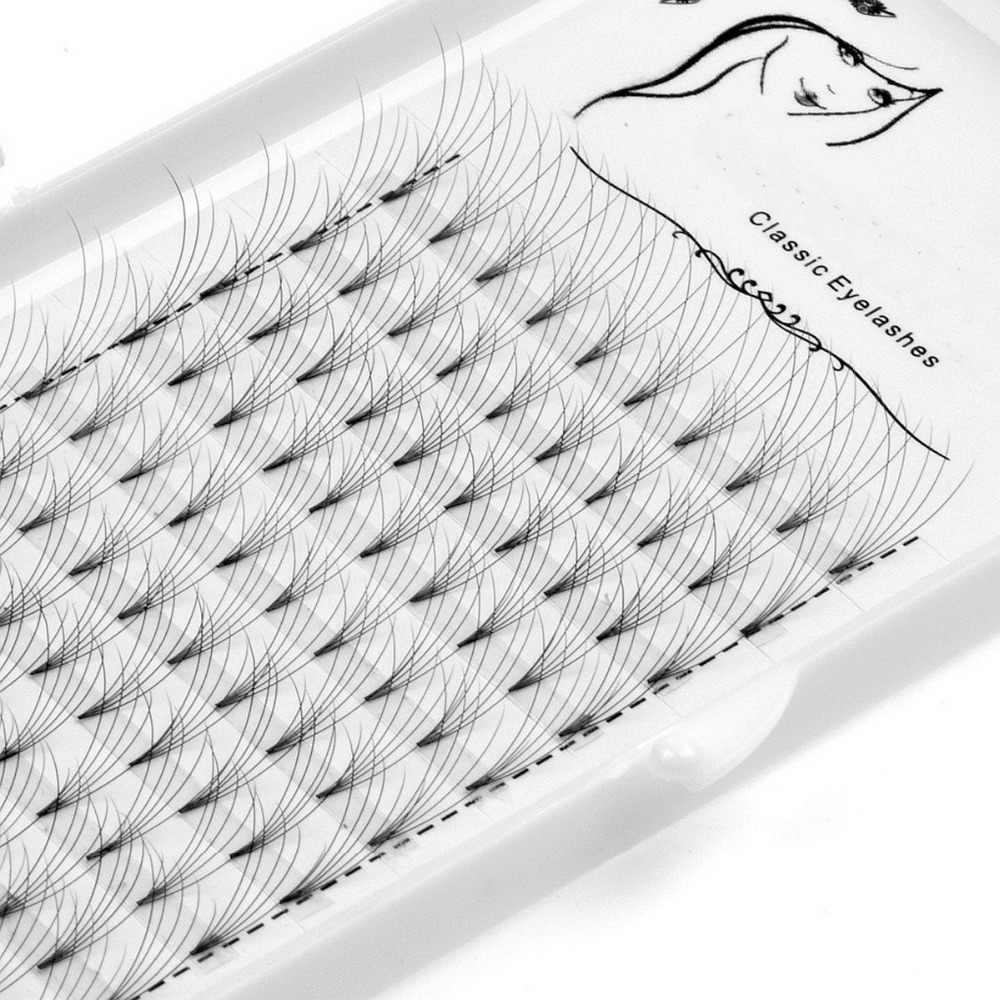 Предварительно сделанные объемные ресницы, 3D 4D 5D 6D 10D фен для придания объема, наращивание профессиональных ресниц, русский объем и удлинение ресниц