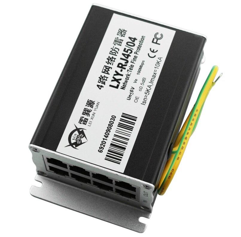 4 Möglichkeiten 5kA Ethernet Überspannungsschutz für 100 Mt Ethernet ...
