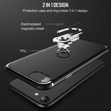 ROCK TPU Slim Holder with Kickstand Case for iPhone 8 8Plus