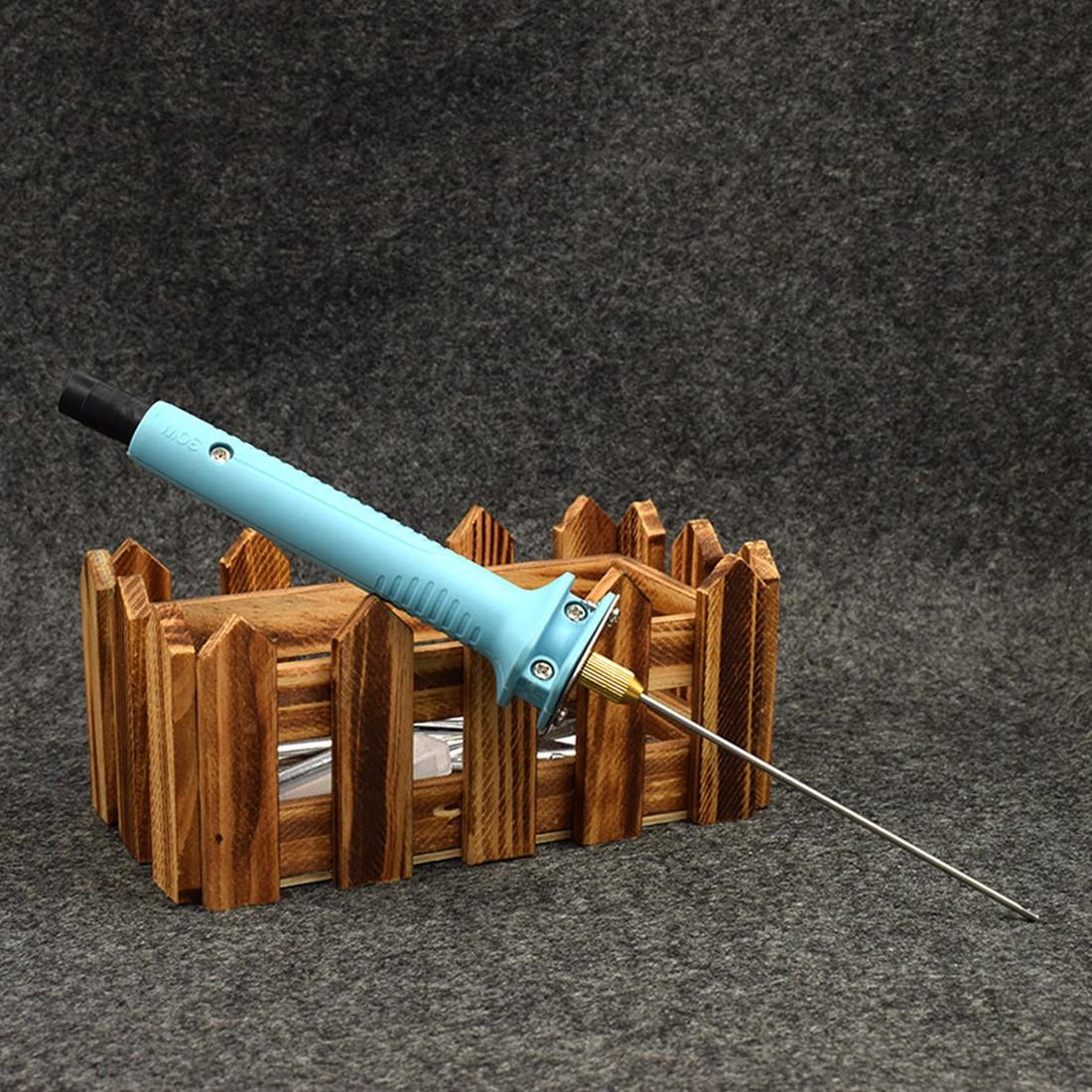 Schaum Cutter 15W 10CM edelstahl Elektrische Schaum Polystyrol Schneiden Maschine Stift Tragbare Styropor DIY Schneiden Werkzeuge Maschinen