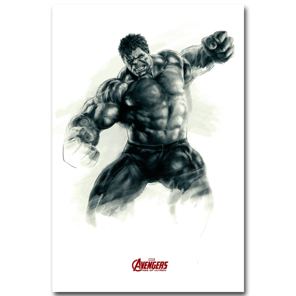 MARVEL The Avengers Age of Ultron Hulk Bruce Banner 24x36 inches Silk Poster