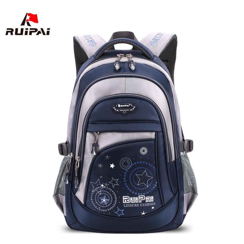 RUIPAI Nylon School Bags for Teenage Boys Printing Children Backpack Brand Design Girls Schoolbags Backpacks Unisex Back Pack| | |  - title=