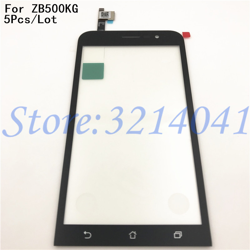 5Pcs Lot New 5 0 inches For Asus Zenfone Go 5 Lite ZB500KG Digitizer Touch Screen