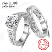Victoria Wieck Princess Cut Brand Jewelry 925 Sterling Silver White Clear 5A CZ Stones Wedding Bridal