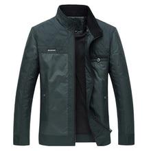 Men Black Jacket 2016 Hot Coat Big Size Men Clothing Autumn Thin Padded Jkackets Male Winter Business Gentleman Jacket Coat 4XL