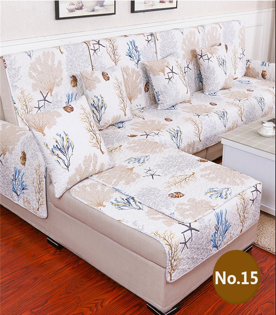 Free Shipping Anti Skid Cotton Material Sofa Towel