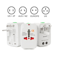 Yulass All In One Universal Travel Wall Charger AC Power AU UK US EU Plug Adapter