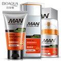 Hombre Establece El Tratamiento Del Acné Cuidado de La Cara Blanqueamiento Exfoliante hidratante Refrescante Control de Aceite Reducir Los Poros Limpieza Profunda Cuidado de La Piel