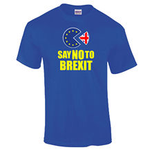 Anti Brexit New Vote Peoples March For Europe PAC Exit Man T-shirt S-XXXL T Shirts Funny Tops Tee Unisex