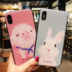 for iPhone 7 Case 3D Cartoon Cat Ear Capinha Case iphone 6Plus Silicone Soft TPU for iPhone x 6 7 8 plus 5