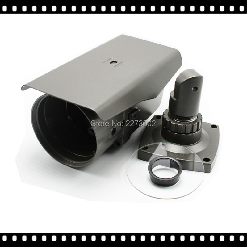 CCTV Accessories Camera's House for 72IR LEDs Varifocal 2.8-12mm Lens Vandalproof IR Bullet AHD IP CAM Camera's Shell Case