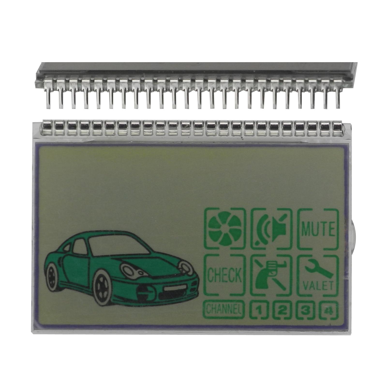 jingyuqin for Pandora DXL3000 LCD Remote Controller Car Key Chain /Two way Car Alarm System DXL 3000 LCD Display Tamarack FOB