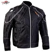 Бесплатная доставка 1 шт. мужские мотоцикл Ofxod байкер куртка Бронированный Водонепроницаемая Куртка с 5 шт. колодки