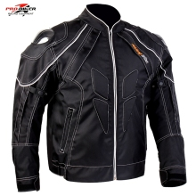 Free shipping 1pcs Men's Motorbike motorcycle Ofxod biker's jacket Armoured WaterProof Jacket with 5pcs pads
