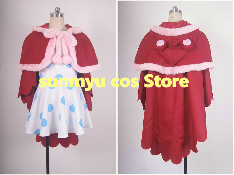 Free Shipping!ONE PIECE Sugar Cosplay Costume,Size Customizable,Halloween Wholesale
