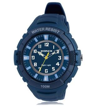 marcas reconocidas comprar bien tienda oficial Reloj deportivo de cuarzo con luz LCD analógica impermeable 100m ...