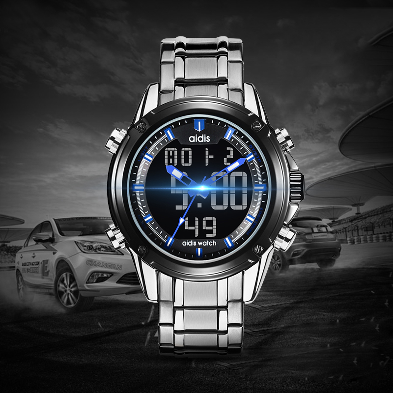 2019 newest mens watches quartz sport water-proof casual wrist watch luxury brand luminous alloy strap quartz mens watch2019 newest mens watches quartz sport water-proof casual wrist watch luxury brand luminous alloy strap quartz mens watch