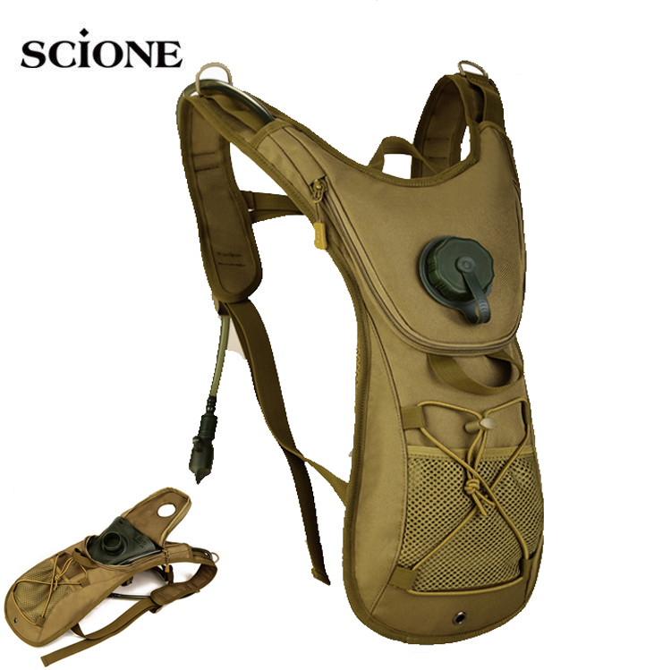 2.5L Water Bag Military Tactical Camelback Hydration Backpack Outdoor Camping Camel Bladder Rucksack Waterproof Cycling XA434WA outlife new style professional military tactical multifunction shovel outdoor camping survival folding spade tool equipment