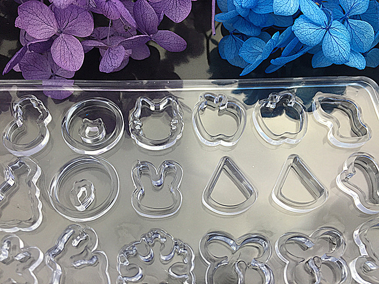 Silikonform Herstellung von Schmuck Herstellung von Zucker Feder Resin Mold