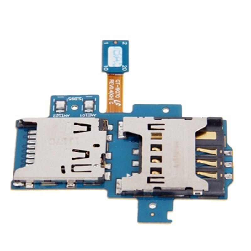 Mobile Phone SIM Card Slot + Sim Card Connector For Samsung GT-i9070 / Galaxy S Advance