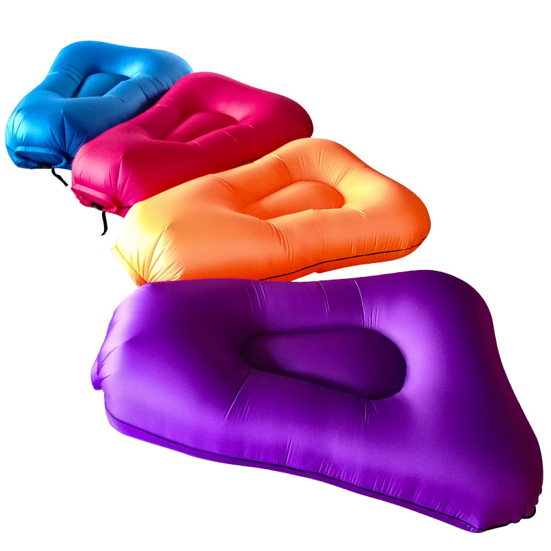 Outdoor Inflatable Couch Picnic Sleeping Bag Convenient Pocket Sofa Daybed  Outdoor Furniture  Camping CotOutdoor Inflatable Couch Picnic Sleeping Bag Convenient Pocket Sofa Daybed  Outdoor Furniture  Camping Cot