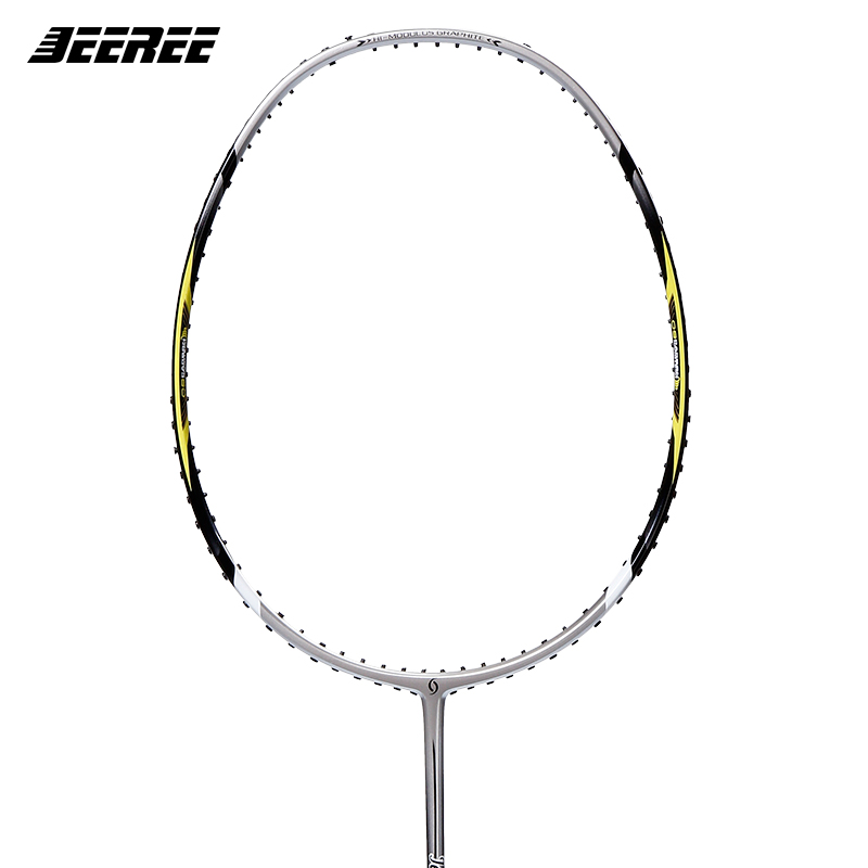 Jeeree Super Force 26 Badminton Rackets man and womenSingle Racket Carbon Top Quality Fiber High Tensile Slim Shaft  Rackets