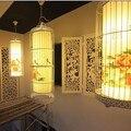 Chinesischen stil Eisen birdcage laterne anhänger lichter kreative wohnzimmer restaurant schlafzimmer party kleidung anhänger lampen ZS111