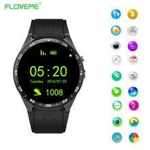Floveme bluetooth smart watch mtk6580 quad core sim-karte anruf gps kamera schrittzähler uhr smartwatch für ios android telefon reloje
