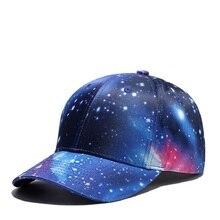 Высокое качество Бейсбол Кепки унисекс для спорта и отдыха шляпы 3D цифровая печать Звезда/деревья спортивные шапки для обувь для мужчин и женщин в стиле хип-хоп шляпы