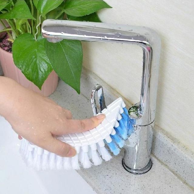 Cepillo de limpieza Flexible de 360 grados cepillo de fregadero de cocina cepillos de baño herramienta de limpieza de inodoro hogar #05
