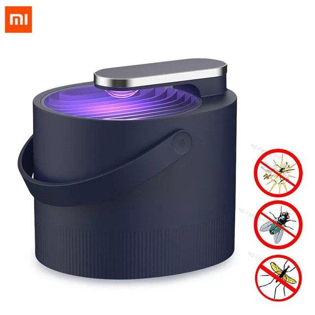 Lo más nuevo Xiaomi Mijia Mosquito Killer lampara USB eléctrico photocatalist Mosquito repelente insectos Killer lámpara trampa UV luz inteligente