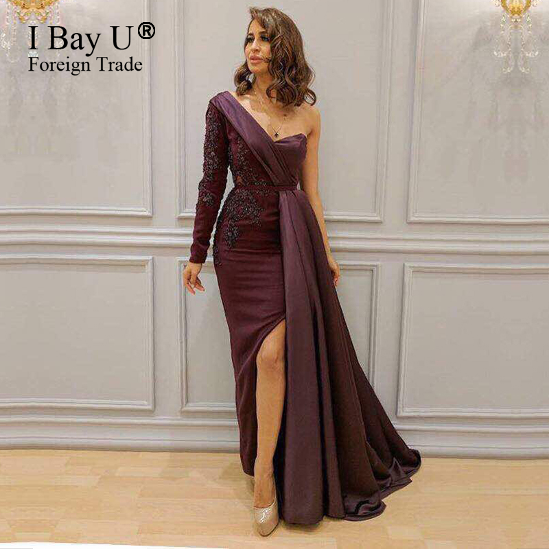 Wine Red Evening Prom Dresses 2017 New Arrival Luxury Lace Appliques ...