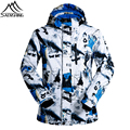2016 Winter Brand Ski Jacket Men Waterproof Skiing Snowboard Jacket Outdoor Hiking Camping Snow Coats Mountaineering Outerwear